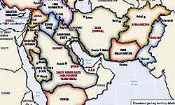 نقشه خاورميانه جديد!