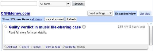 گوگل ريدر